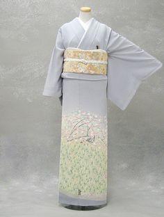 Subtle and stunning kimono ensemble.