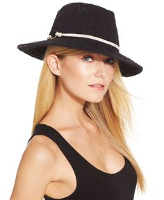 Vince Camuto Rope & Hook Panama Hat - Hats, Gloves & Scarves - Handbags & Accessories - Macy's