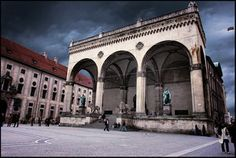 Odeonsplatz, Munich, Germany