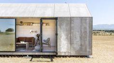 low-cost prefab cement wood-board housing by abaton