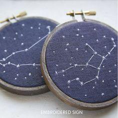 constellation needlework