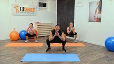 VIDEOTRÉNING s Janym Landlom: MEGA účinné cviky na zadok a stehná - Fitshaker Glutes, Basketball Court, Health Fitness, Exercise, Gym, Workout, Sports, Legs, Excercise