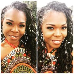 I her hair!! #necijones #loctician #naturalhairstylist #locs #locstyles #freeformlocs #greylocs #silverlocs #graylocs #naturallocs #curlylocs #longlocs #locjourney #loclivin #naturalista #locqueen #naturalista #melaninpoppin #naturalhair #naturallygraynaturallyslay #floridaloctician #locd #ilovemylocs #naturals #