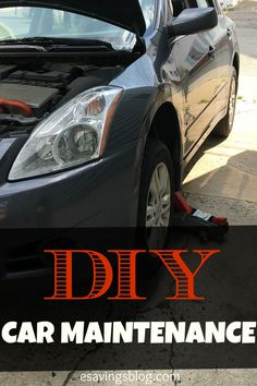 Do it Yourself Car Maintenance can SAVE you a lot of money! Check out these easy DIY Tips.