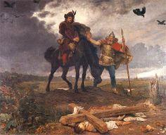 Powrót Kazimierza Odnowiciela do Polski - obraz Wojciecha Gersona