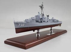 "A recenlty completed 25"" Model of the  USS Hyman (DD-732)"