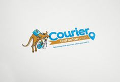 logo for the on-demand Courier service provider in USA Courier Service, Logo Design, Usa, Logos, Logo, U.s. States