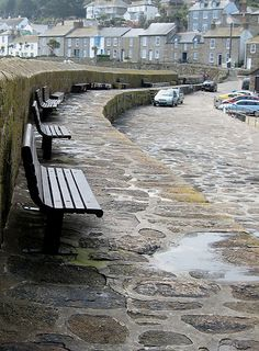 Harbour wall, Mousehole , Cornwall, Great Britain ...one of my favorite seaside villages in Cornwall...