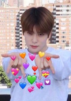 Find images and videos about kpop, nct and meme on We Heart It - the app to get lost in what you love. K Meme, Funny Kpop Memes, Meme Faces, Funny Faces, K Pop, Wattpad, Memes Lindos, Heart Meme, Young K