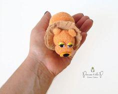 THE ORIGINAL Washcloth Lion Diaper Cake por PrincessAndThePbaby