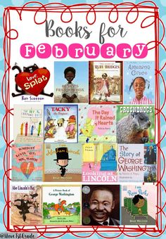 Some of my favorite books for February