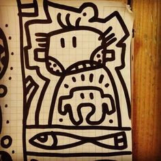#sketch on #paper with a #black #marker #pen   #handmade #drawing as #art #Instagram