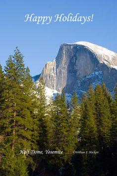 Half Dome, Yosemite National Park, California!