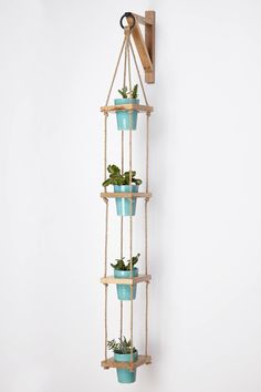 Strung Squares Planter - anthropologie.com