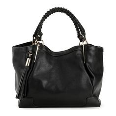 Black Just What You Asked For Bag (€33) ❤ liked on Polyvore featuring bags, handbags, black purse, black bag and black handbags