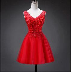 2017 free shipping V-neck Short homecoming dress Formal gowns vestidos de festa Robe de soiree Abendkleider TK1067