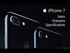 This is 7. Apple iPhone 7.  Watch the intro of latest iPhone 7 from Apple. Also check out the features and specification of recently launched iPhone 7.  Apple iPhone 7 was launched on 7 October 2016 in India. It was available for pre-order on Flipkart.in and Amazon.in in India before 7 October.   SHARE, LIKE and SUBSCRIBE https://www.youtube.com/TechcareonlineIn