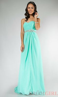 Jasz Strapless Prom Gown 1130 at PromGirl.com