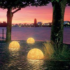 Half-Globe Patio Lights at HomeInfatuation.com.