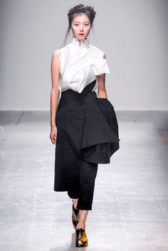 Spring 2015 Ready-to-Wear - Aganovich #fashion #designers #luxury #fashionweek #design #details #trends #ss15 #pfw #fashionista #style #textures #textiles