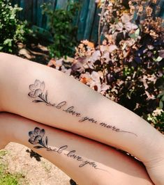 Your mother may drive you crazy, but she's also your best friend.- Your mother may drive you crazy, but she's also your best friend. Celebrate that unique bond with matching mother-daughter tattoos. Wolf Tattoos, Finger Tattoos, Body Art Tattoos, Girl Tattoos, Tattoos For Women, Twin Tattoos, Mother And Daughter Tatoos, Mommy Daughter Tattoos, Tattoos For Daughters