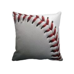Baseball Pillow Boys Room