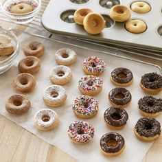 Baked Donuts. All the goodness without the guilt.