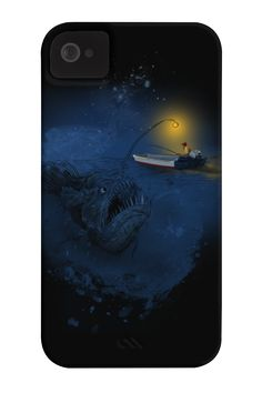The Angler fish Phone Case for iPhone 4/4s,5/5s/5c, iPod Touch, Galaxy S4