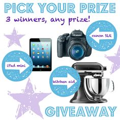 Pick Your Prize Giveaway (US & Can) - Simply Stacie