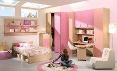15 Fotos de Ideas de Diseño de Habitaciones para Chicas Jóvenes : Casas Decoracion