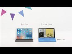 Microsoft enfrenta la Surface y el iPad Pro en su último anuncio - http://www.actualidadiphone.com/microsoft-enfrenta-la-surface/