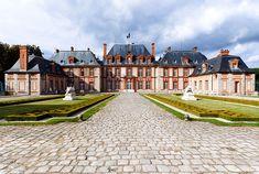 Chateau de Breteuil - vue d'ensemble