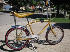This looks just like my CCM Mustang bicycle I owned in the late 60's ... same seat, shifter, handlebar grips ... everything!