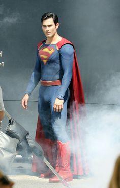 Tyler Hoechlin * as Superman on Supergirl