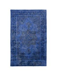 Bhilal Rug, Cobalt,