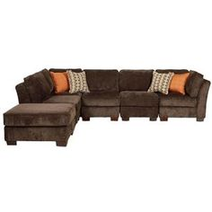 Lane Roxy 6 Piece Modular Sectional Sofa at Belfort Furniture  sc 1 st  Pinterest : cardis sectionals - Sectionals, Sofas & Couches