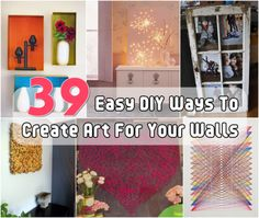 Easy DIY Wall Art (Craft Gossip)