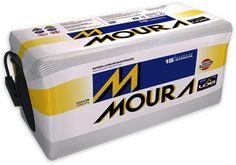 Bateria Moura   Mas a Moura só se tornou marca fabricante de seus próprios produtos em 1984, quando lançou baterias para carros movidos a á... Graphic Design, Yarns, Products, Dibujo, Motorbikes, Circuit, Oil, Visual Communication