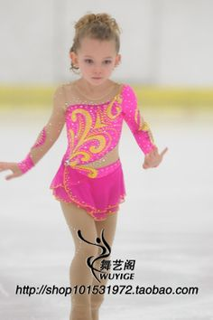 Quality ice skating dress children competition ice skating dress for kids hot sale new brand figure skating competition dress kids with free worldwide shipping on AliExpress Mobile Figure Skating Competition Dresses, Figure Skating Outfits, Figure Skating Costumes, Figure Skating Dresses, Eislauf Outfits, Dance Outfits, Sport Outfits, Katharina Witt, Cute Dance Costumes