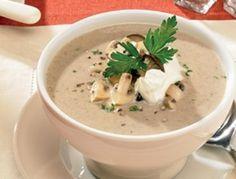 Cremige+Champignon-Suppe