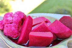 IRAQI Pickled Turnip (turshi shalgham) -- nice Iraqi food website to explore!