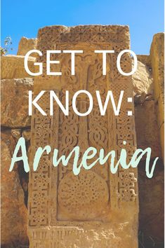 Get to know Armenia from an expat's perspective. a small country with a deep history and vibrant culture, it should be on every history lover's bucket list!