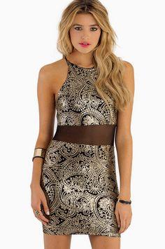 Web Of Intrigue Dress $42 at www.tobi.com