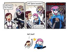 Прекрасные фанарты по Mass Effect: Andromeda