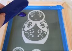 Screen Printing 101 - Lil Blue Boo Photo Emulsion Tutorial