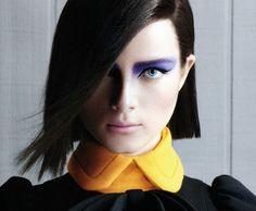 purple shadow! Nars makeup!  via Marina Laender