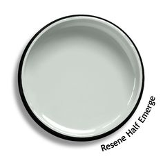 Resene Half Emerge is a tint of water vapour green, it is apparent when seen with pure white. Try Resene Half Emerge with grey greens, grey whites or whitewash stains such as Resene Innocence, Resene White Thunder or Resene Whitewash. From the Resene The Range fashion colours. Latest trends available from www.resene.co.nz. Try a Resene testpot or view a physical sample at your Resene ColorShop or Reseller before making your final colour choice.