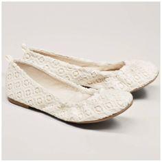American Eagle Crochet Flats