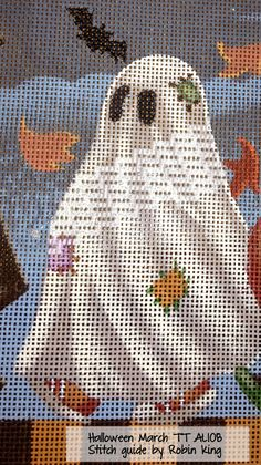 Hi Everybody... Robin here. Back home from teaching at Peacock Alley Needlepoint in Ada, Michigan. Oh, what a fun time. Let me share wit...