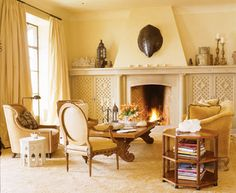 Mediterranean Living Photos Moroccan Living Room Design, Pictures, Remodel, Decor and Ideas - page 4